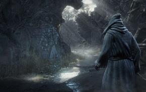 video games, Dark Souls, medieval, dark, Dark Souls III, landscape
