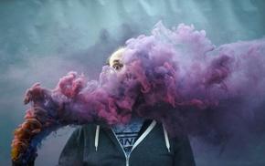 men, smoke
