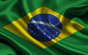 Brasil, flag, Brazil