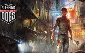 video games, Sleeping Dogs, artwork