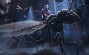 artwork, movies, Ant, Man