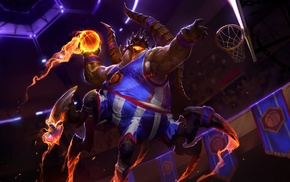 heroes of the storm, Azmodan, Blizzard Entertainment, basketball