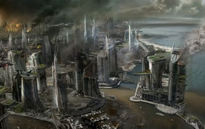 video games, concept art, Killzone