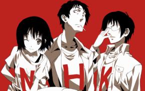 Nakahara Misaki, Kaoru Yamazaki, Welcome to the NHK, anime, Satou Tatsuhiro, artwork