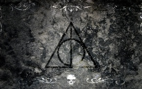 Harry Potter and the Deathly Hallows, reliques, artwork, Harry Potter, symbols, movies