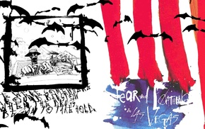 psychedelic, Fear and Loathing in Las Vegas, Hunter S. Thompson, artwork, movies, Ralph Steadman